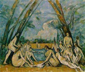 "The Great Bathers 1898 - 1905 Canvas 2083 x 2489mm (82 x 98"") Philadelphia Museum of Art"